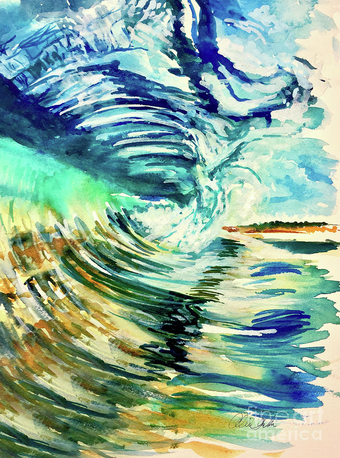 Its The Wave Painting