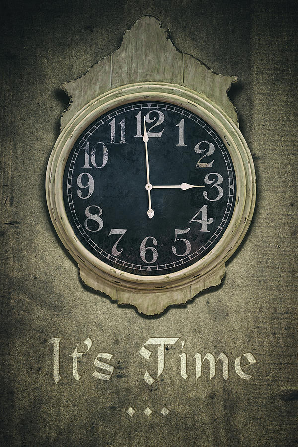 It's Time ... by Carlos Caetano
