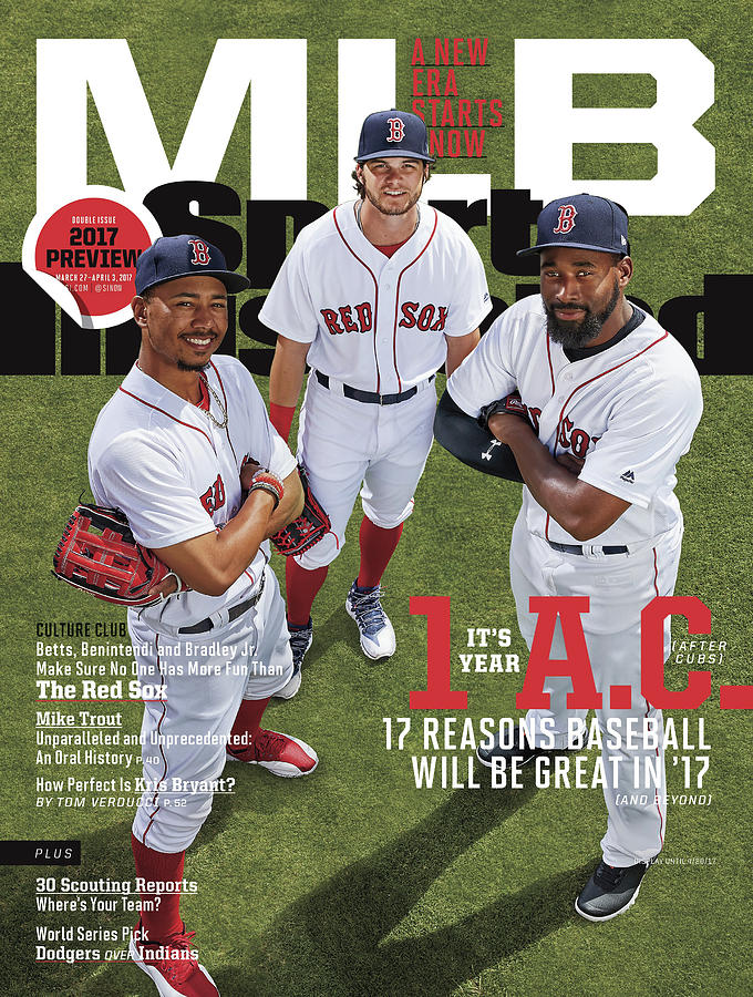 Its Year 1 A.c. after Cubs, 2017 Mlb Baseball Preview Issue Sports Illustrated Cover Photograph by Sports Illustrated