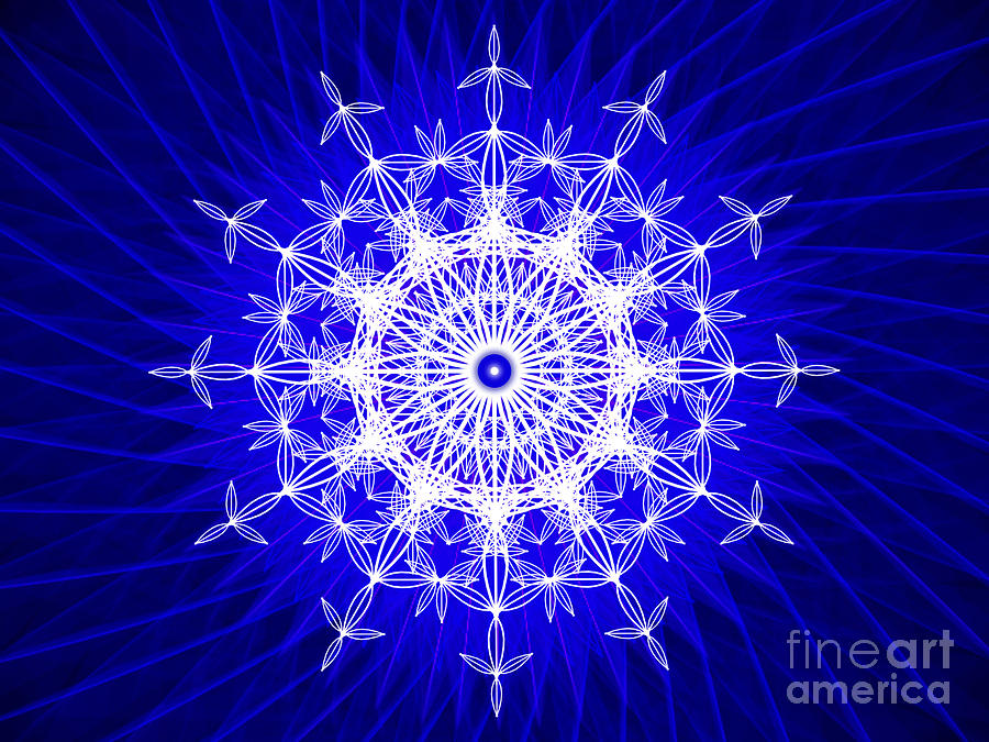 Ivanoha Abstract Sacred Geometry by Nathalie DAOUT