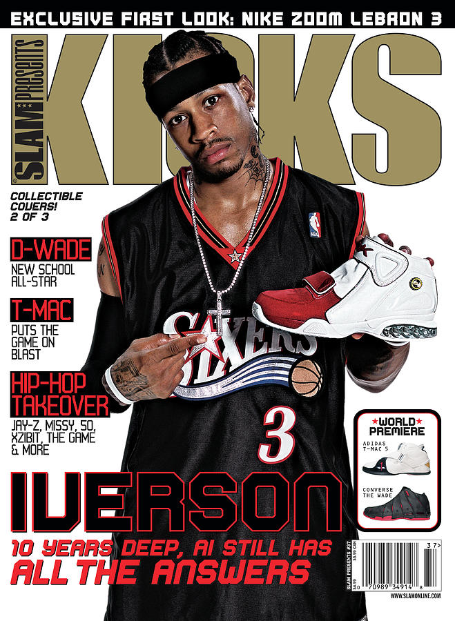 Iverson: 10 Years Deep, AI Still Has All the Answers SLAM Cover Photograph by Atiba Jefferson