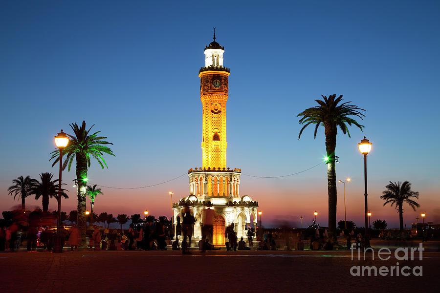 Izmir Clock Tower Photograph by Uchar