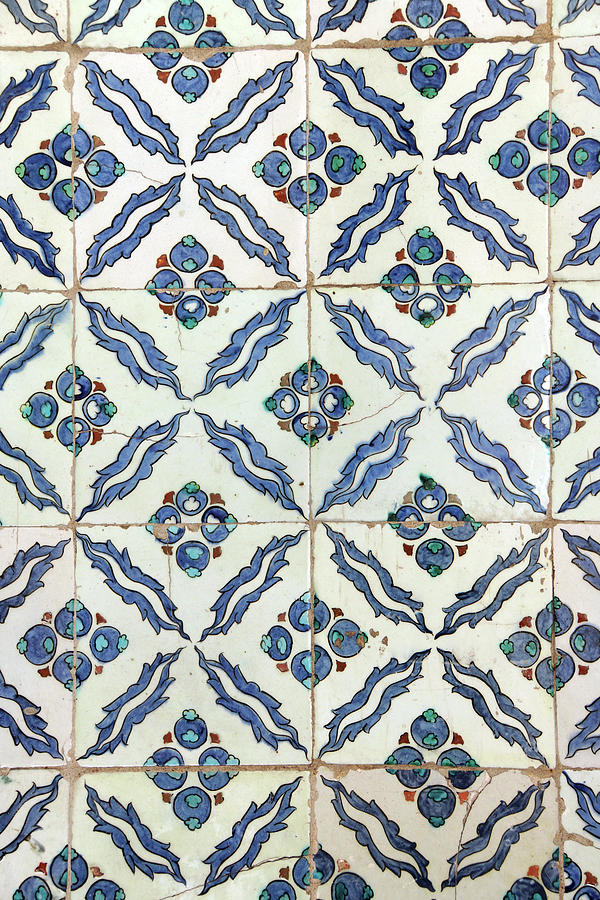 Iznik mosaic tiles of  Harem  by Steve Estvanik