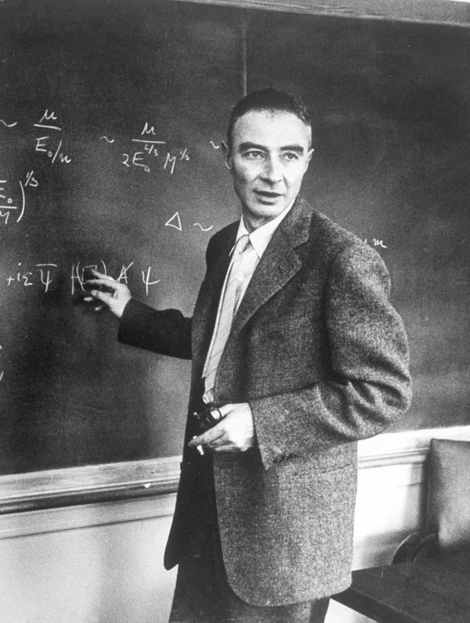 J Robert Oppenheimer Working Out