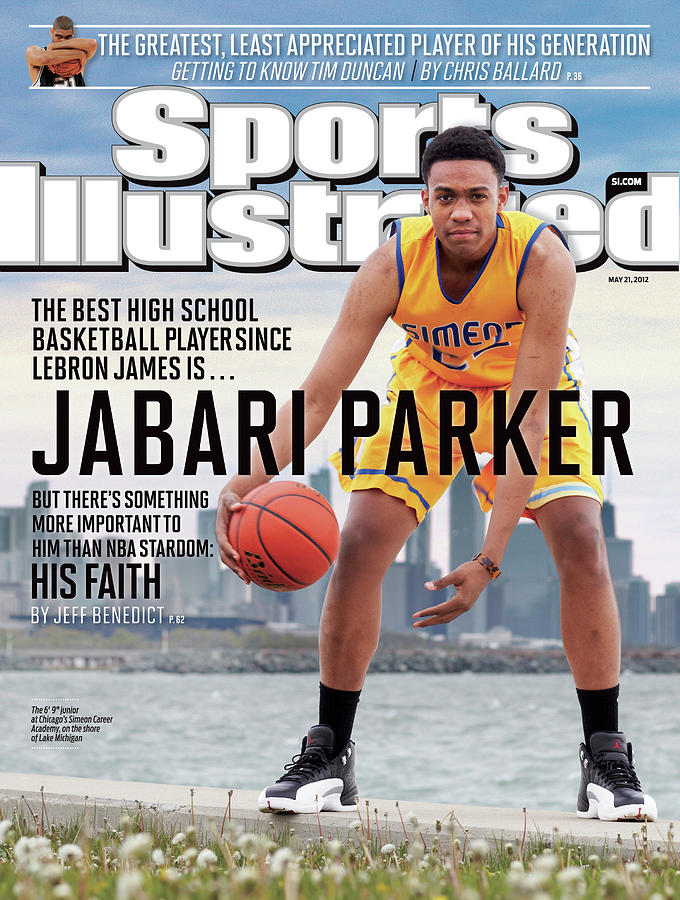 Jabari Parker The Best High School Basketball Player Since Sports Illustrated Cover Photograph by Sports Illustrated