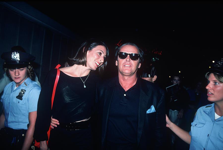 Jack Nicholson, Anjelica Huston Photograph by Art Zelin