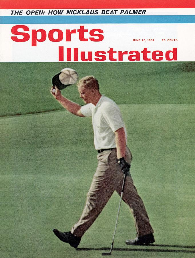 Jack Nicklaus, 1962 Us Open Sports Illustrated Cover Photograph by Sports Illustrated