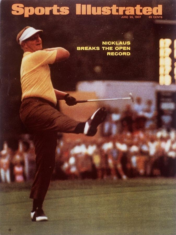 Jack Nicklaus, 1967 Us Open Sports Illustrated Cover Photograph by Sports Illustrated