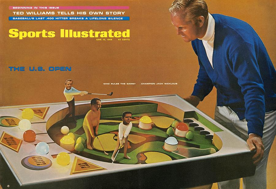 Jack Nicklaus, 1968 Us Open Preview Sports Illustrated Cover Photograph by Sports Illustrated