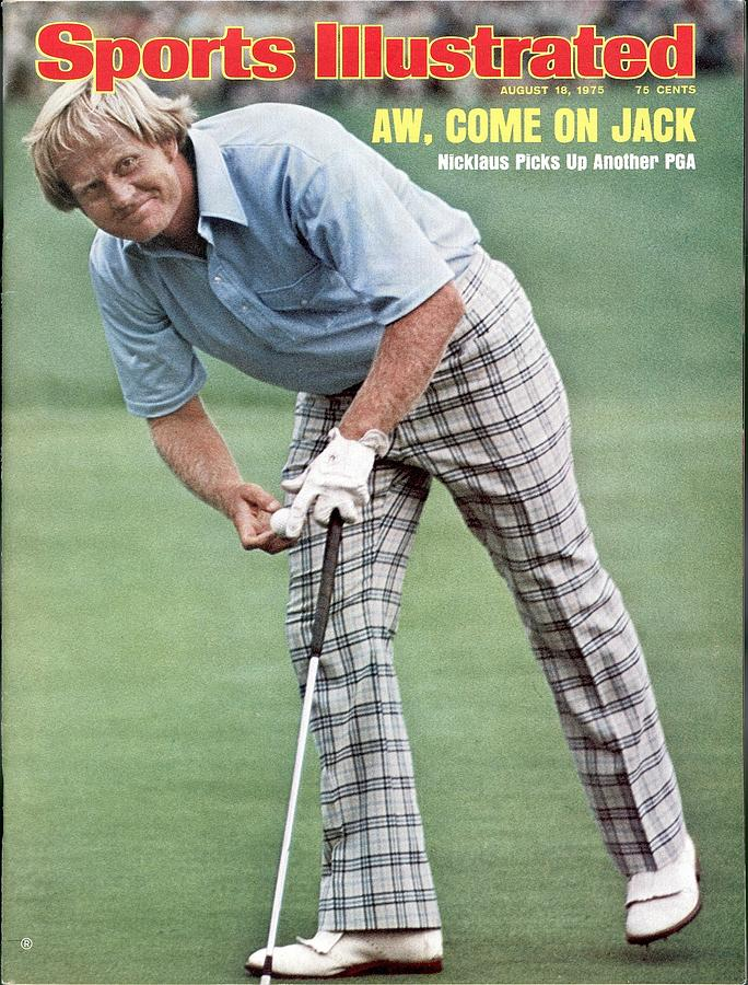 Jack Nicklaus, 1975 Pga Championship Sports Illustrated Cover Photograph by Sports Illustrated