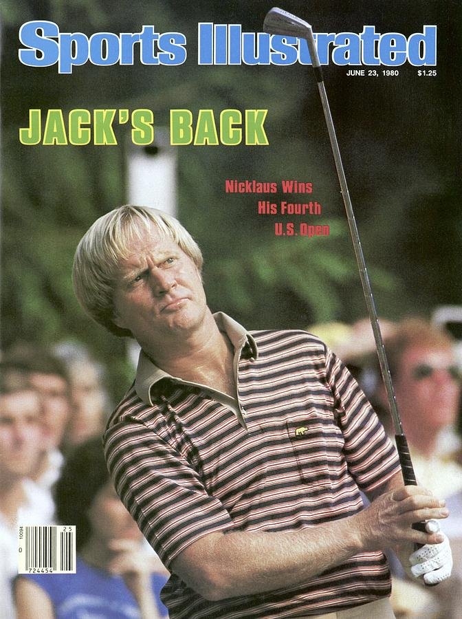 Jack Nicklaus, 1980 Us Open Sports Illustrated Cover Photograph by Sports Illustrated