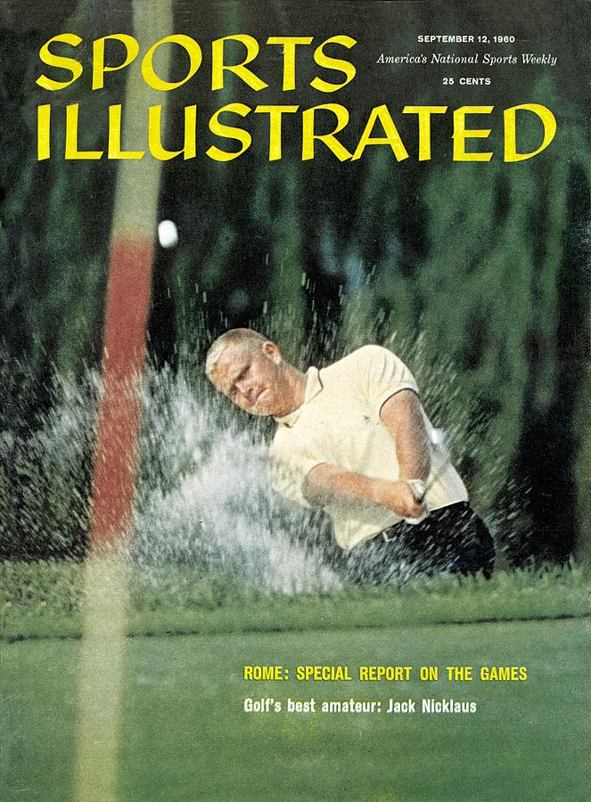 Jack Nicklaus, Amateur Golf Sports Illustrated Cover Photograph by Sports Illustrated