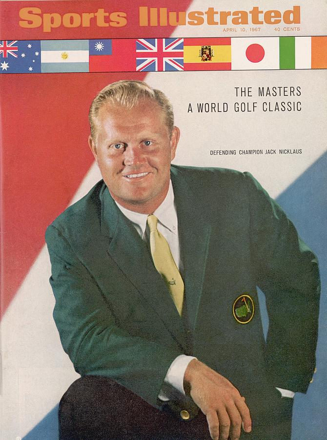 Jack Nicklaus, Golf Sports Illustrated Cover Photograph by Sports Illustrated