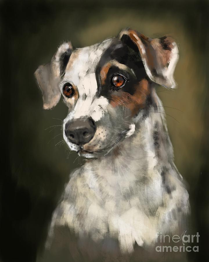 Jack Russell Terrier by Lora Serra