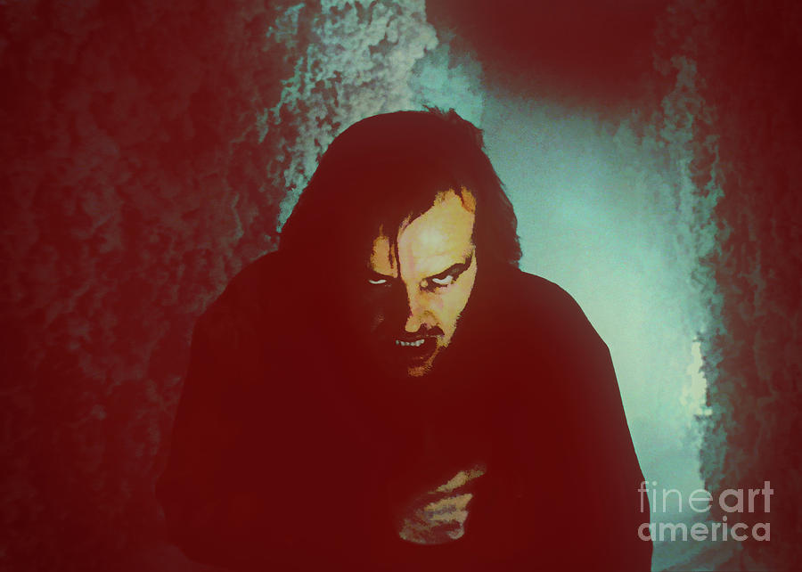 Jack Torrance in the Hedge Maze by Kultur Arts Studios
