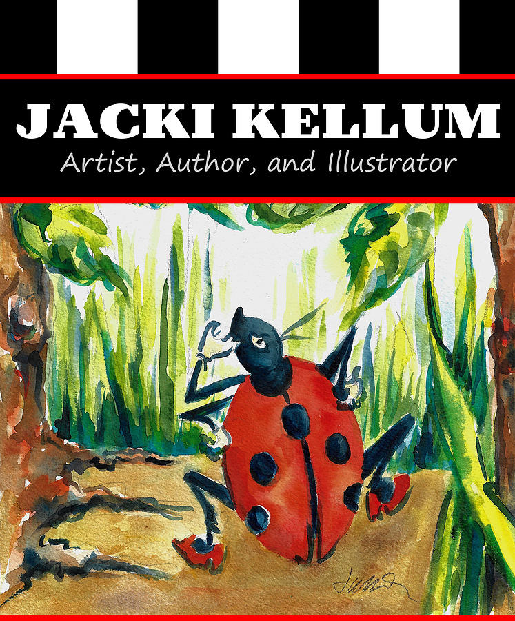 Jacki Kellum Artist Author and Illustrator Ladybug Lou by Jacki Kellum
