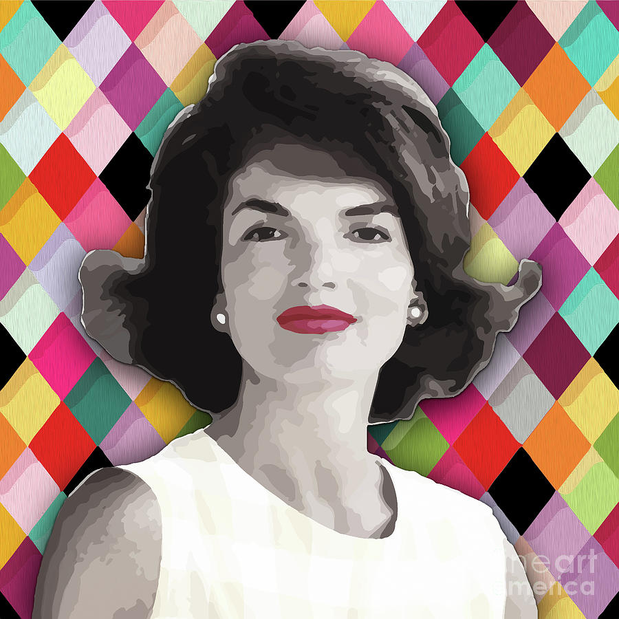 Jackie Geometric by Carla B
