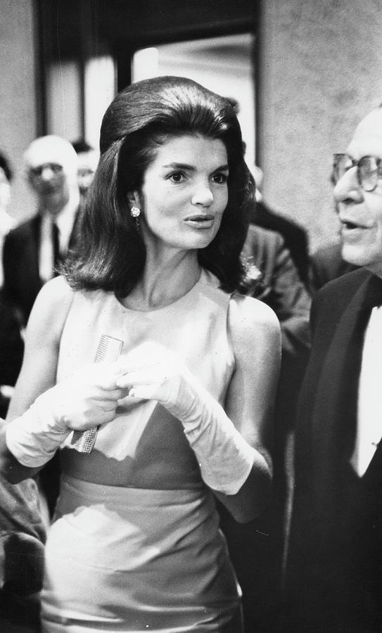 Jackie Kennedy At The Whitney Photograph by Fred W. McDarrah