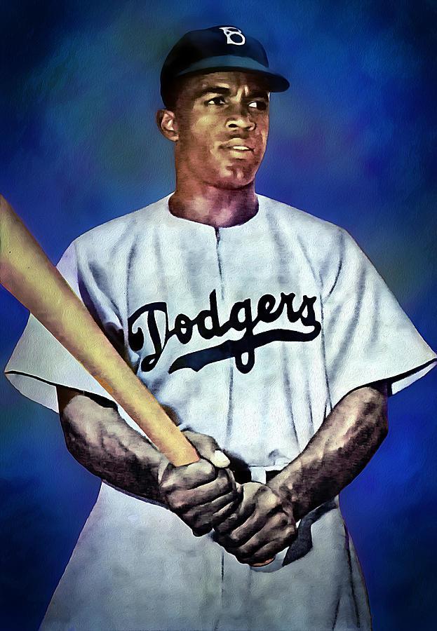 Jackie Robinson by Carlos Diaz