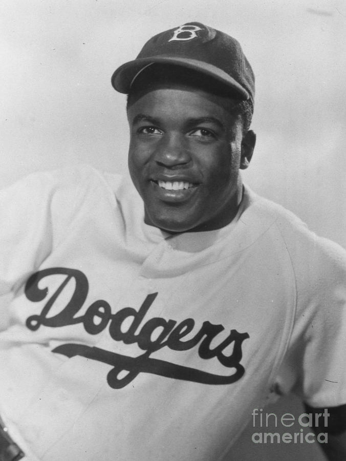 Jackie Robinson Happy Portrait 1949 Photograph by Transcendental Graphics