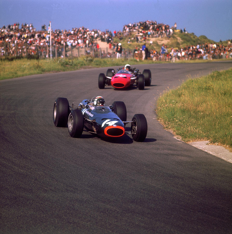 Jackie Stewart In A Brm, At The Dutch Photograph by Heritage Images