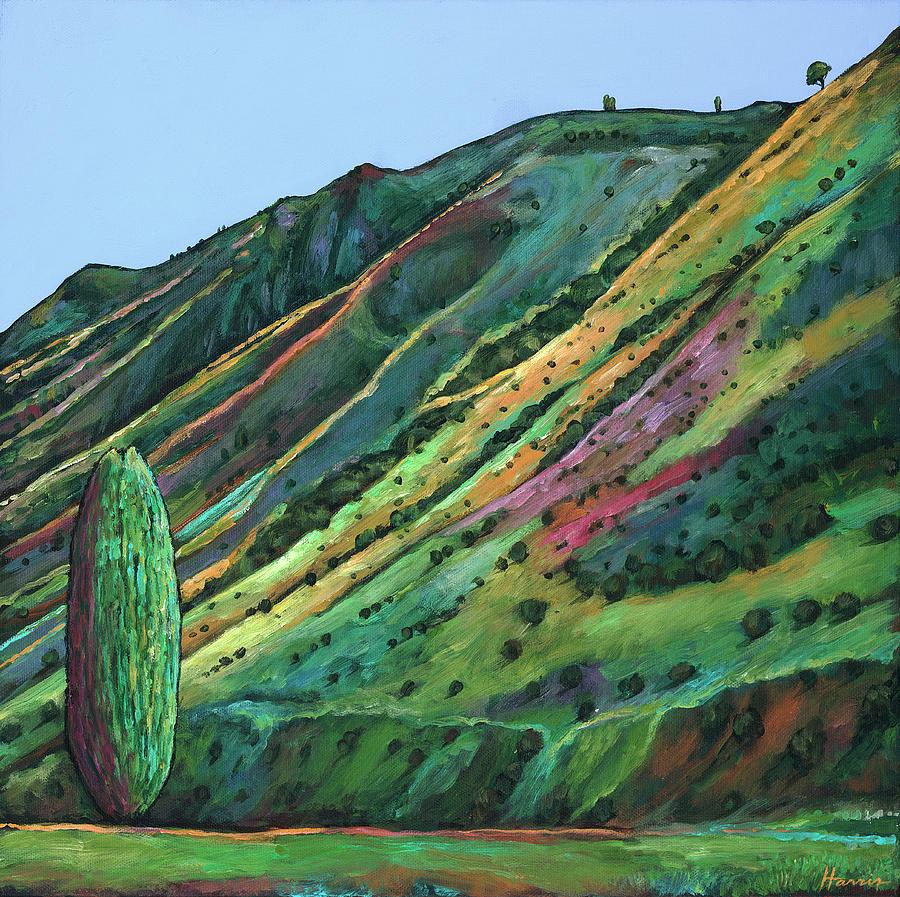 Southwestern Painting - Jackson Hole by Johnathan Harris