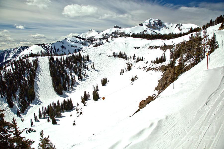 Jackson Hole Mogul Chutes by Adam Jewell