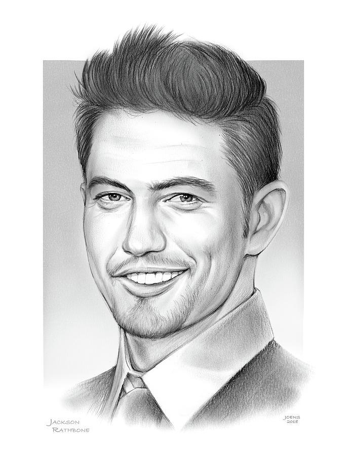 Jackson Rathbone Drawing