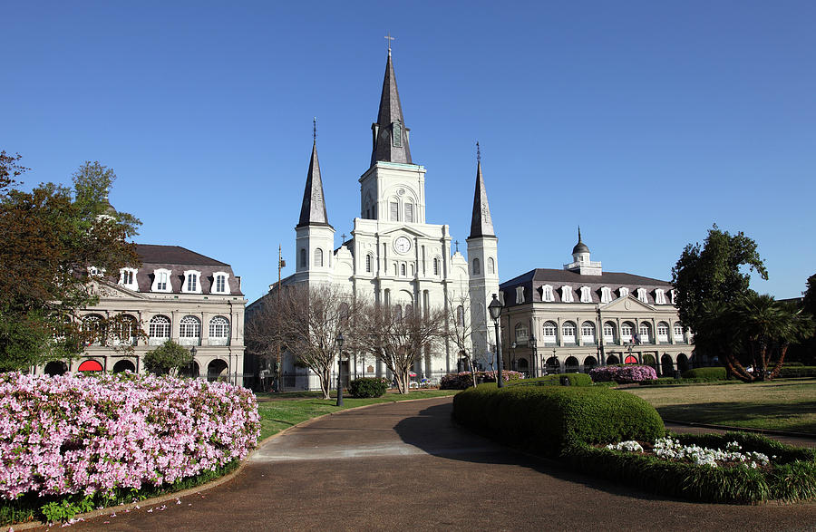 Jackson Square New Orleans Photograph by Denistangneyjr