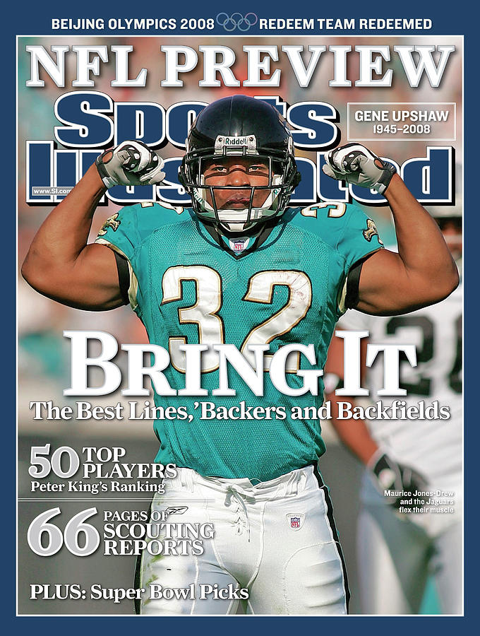 Jacksonville Jaguars Maurice Jones-drew... Sports Illustrated Cover Photograph by Sports Illustrated