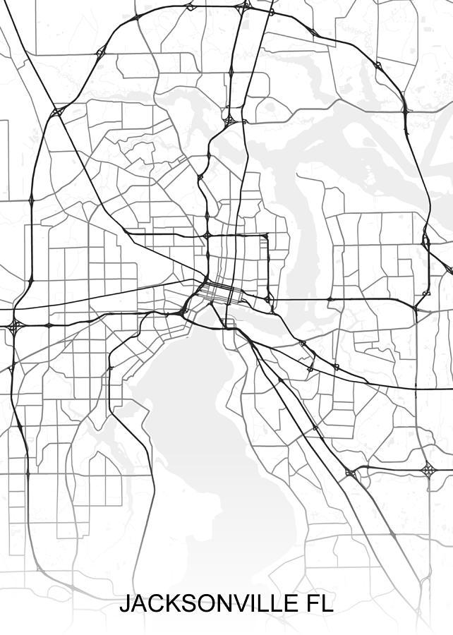 Jacksonville Map Fl