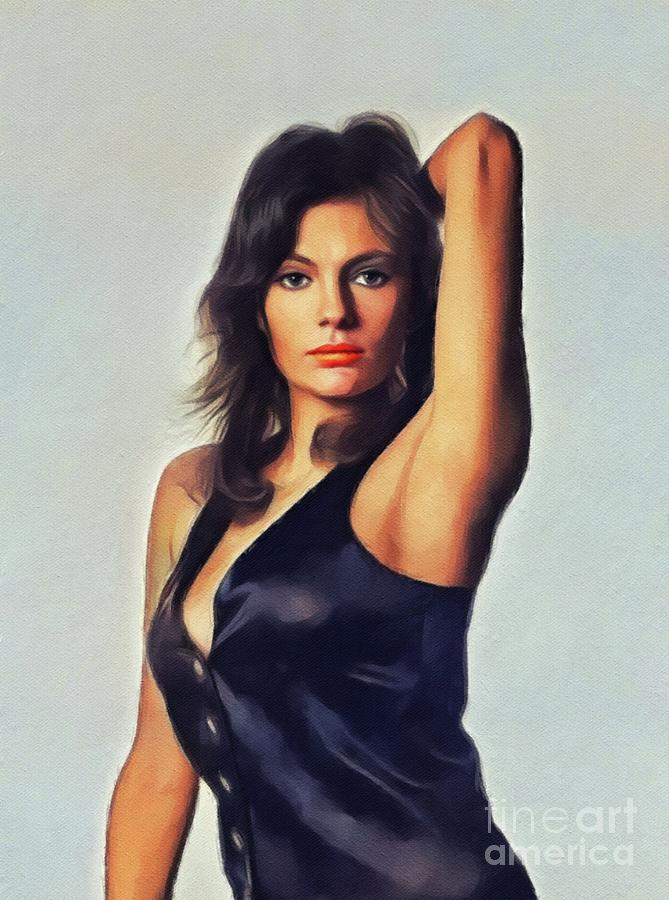 Jacqueline Bisset, Actress Painting by Esoterica Art Agency