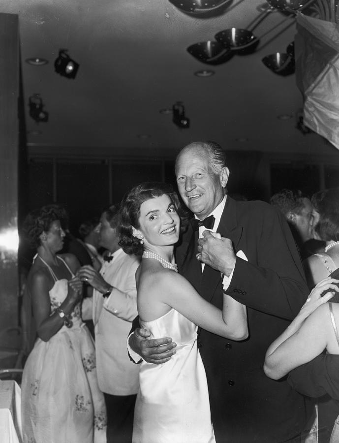 Jacqueline Kennedy Dances With Earl Photograph by Bert Morgan