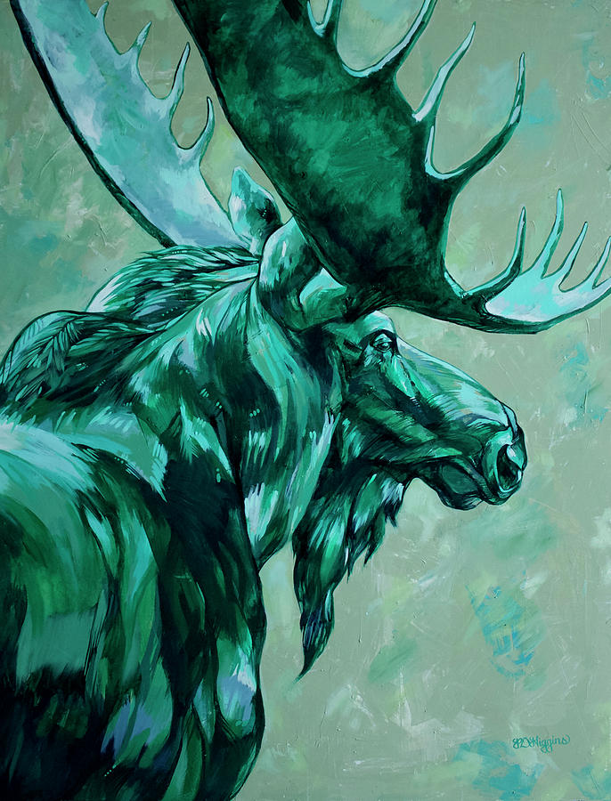 Jade Moose by Derrick Higgins