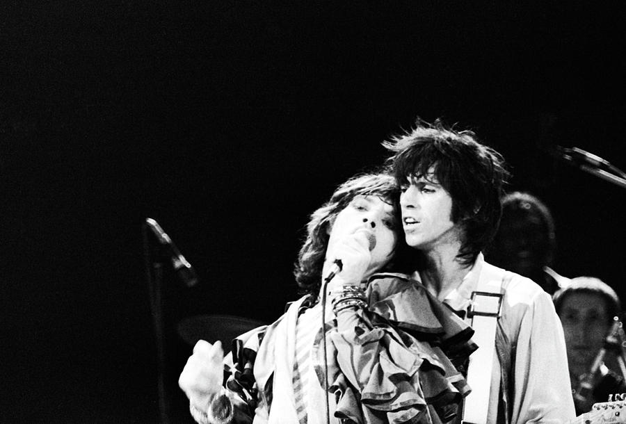 Jagger And Richards Photograph by John Minihan