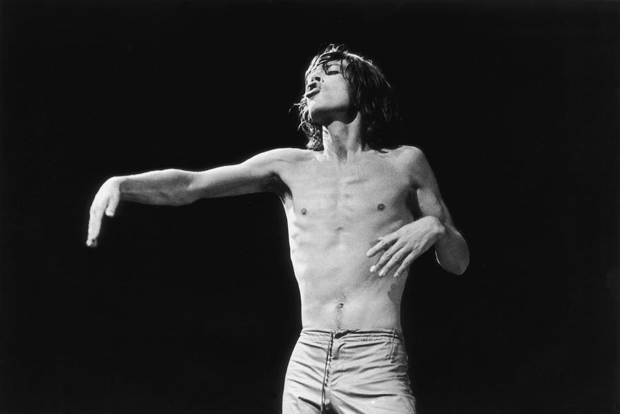 Jagger Gestures Photograph by Graham Wood