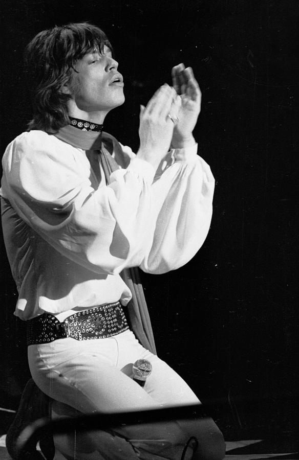 Jagger Live Photograph by C. Maher