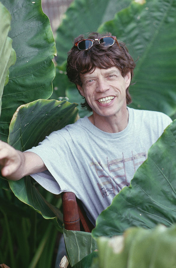 Jagger On Holiday Photograph by Slim Aarons