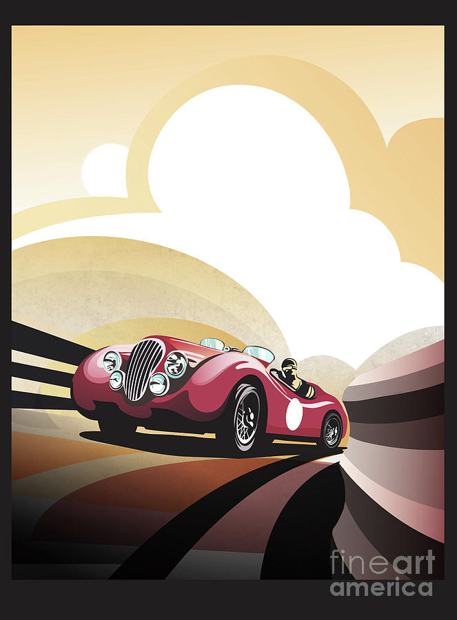 Jaguar XK 120 by Sassan Filsoof