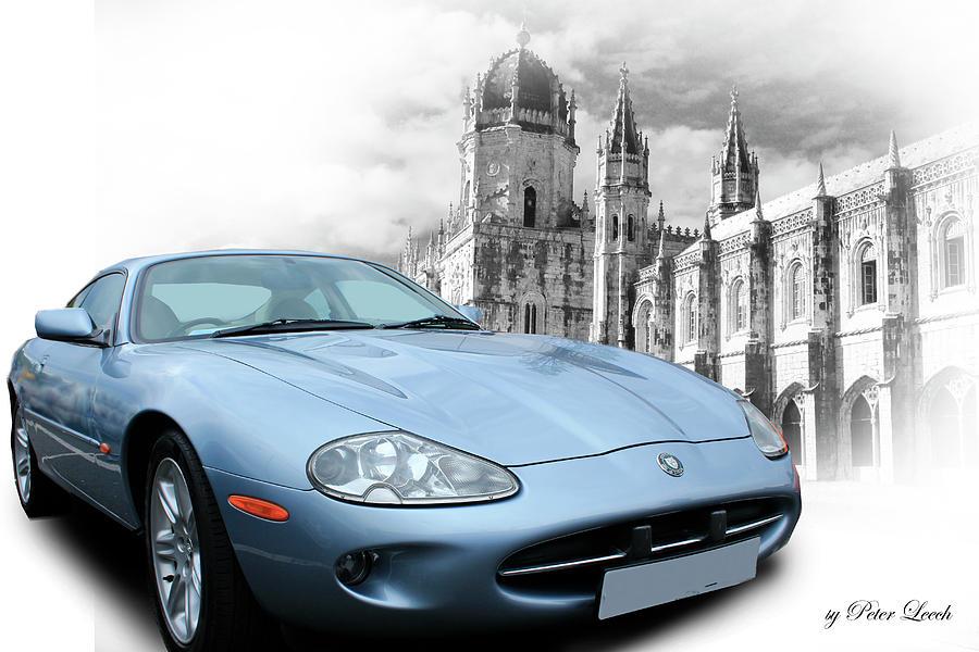 Jaguar XK8 in Lisbon by Peter Leech