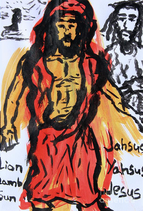 Jahsus The Lion and Lamb by Odalo Wasikhongo