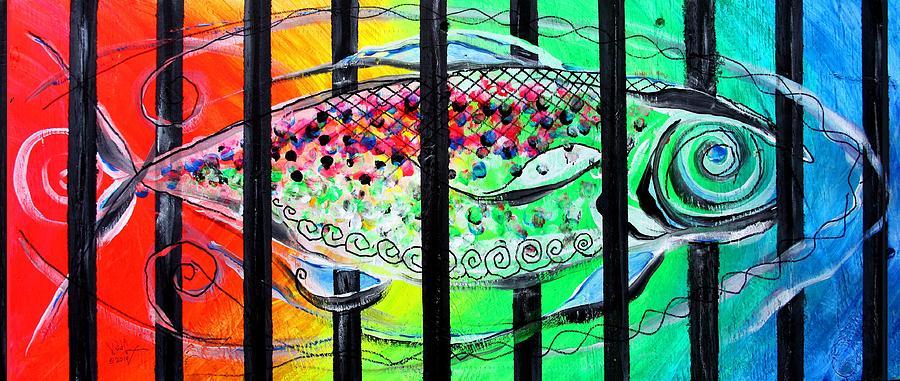 Jail Fish #135826 by J Vincent Scarpace