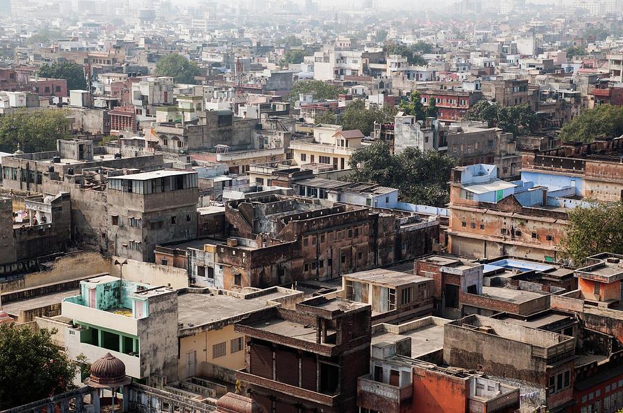 Jaipur City Photograph by Flash Parker