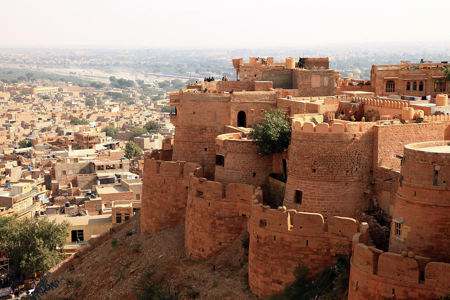 Jaisalmer Fort Photograph by Milind Torney