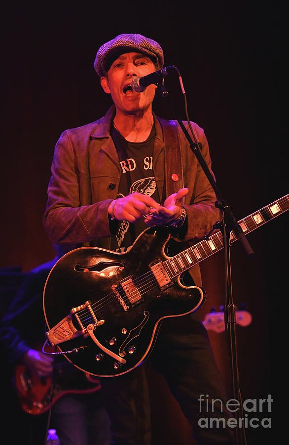 Singer Photograph - Jakob Dylan - The Wallflowers by Concert Photos