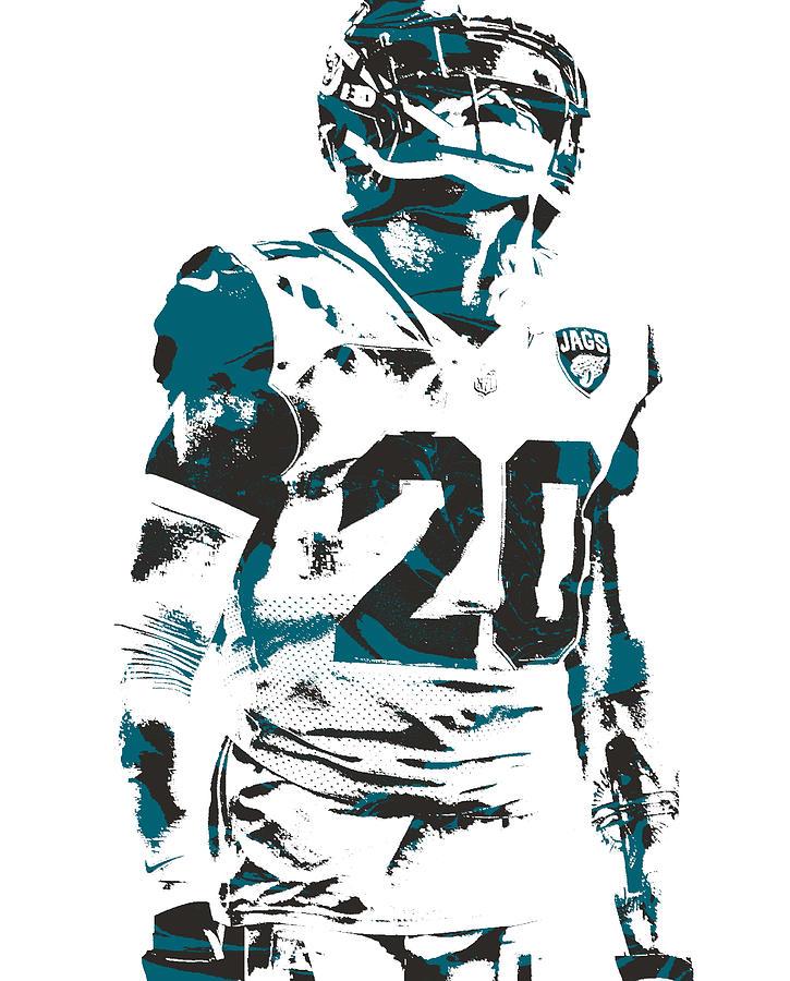online retailer e73c0 0e0b7 Jalen Ramsey Jacksonville Jaguars Pixel Art 3