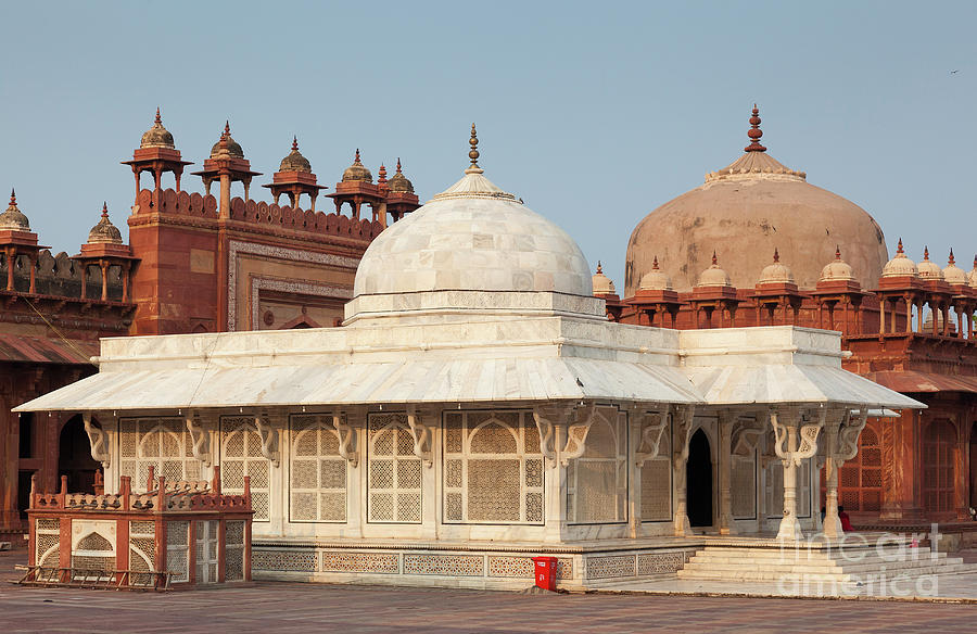 Agra Photograph - Jama Masjid Mosque,  Fatehpur Sikri, Near of Agra, Uttar Pradesh by Francisco Javier Gil Oreja
