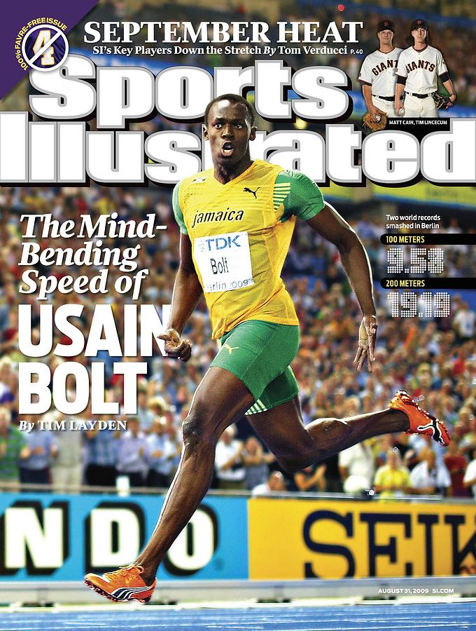 Jamaica Usain Bolt, 2009 Iaaf World Championships In Sports Illustrated Cover Photograph by Sports Illustrated