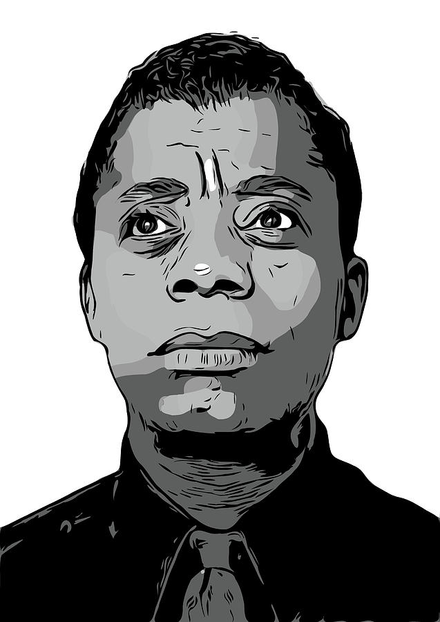 James Baldwin by Zapista Zapista