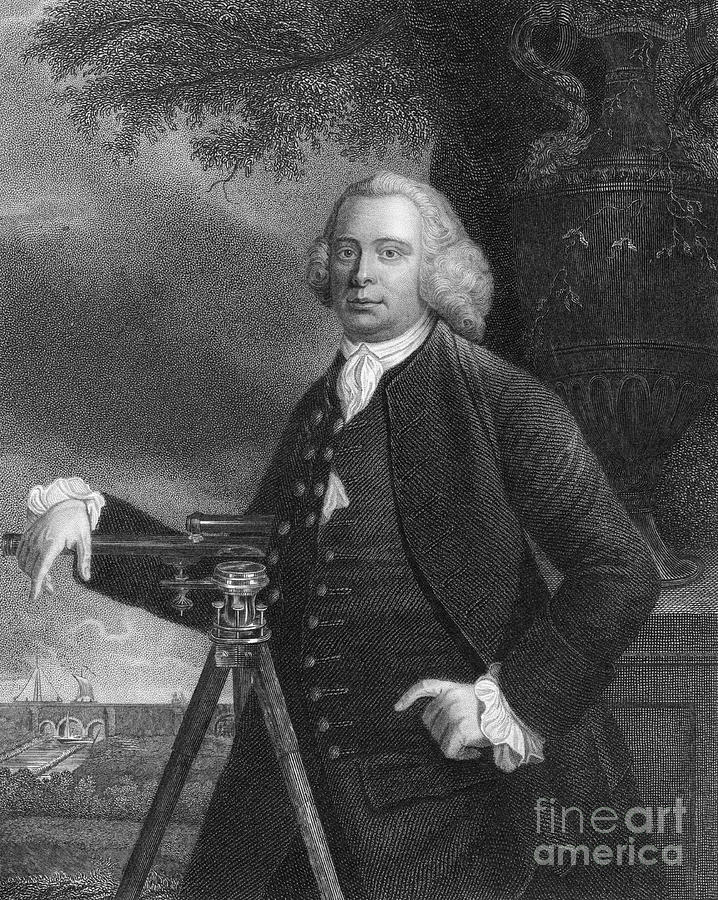 James Brindley, English Civil Engineer Drawing by Print Collector